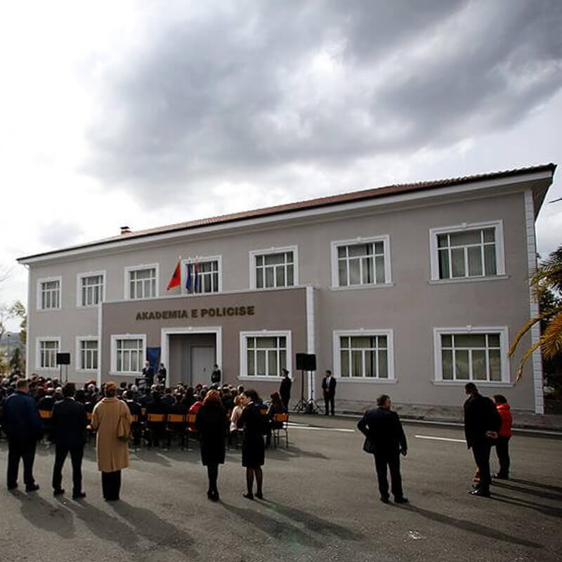 The Police Academy in Tirana